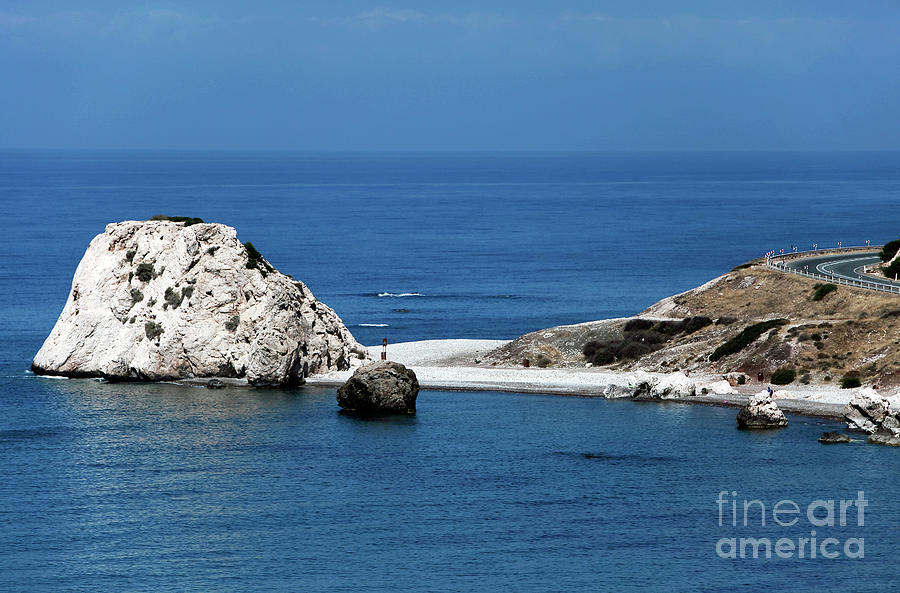 Rock Photograph - Birth Place Of Aphrodite by John Rizzuto