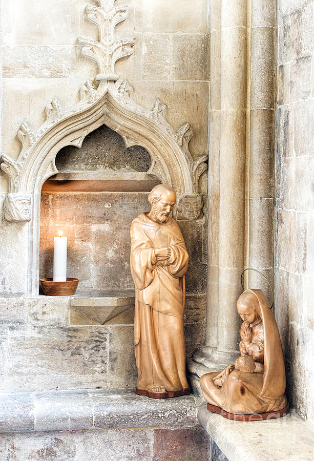 Virgin Mary Photograph - Birth by Tim Gainey