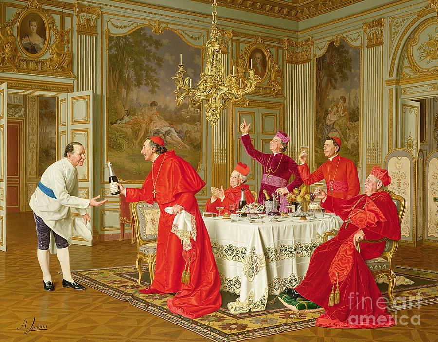 Party Painting - Birthday by Andrea Landini