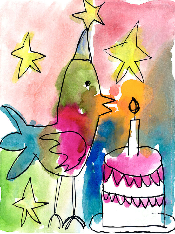 Birthday Bird by Michelle Malachowski Age Seven