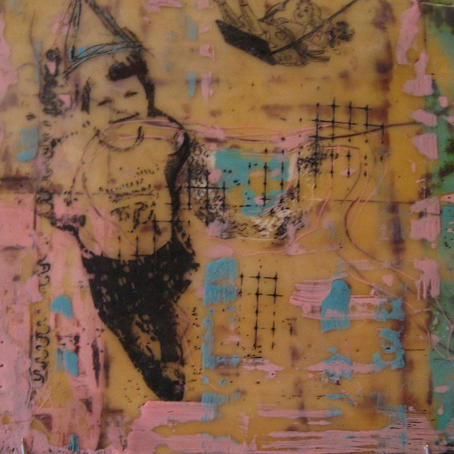 Childhood Painting - Birthday Girl by Sher Fick