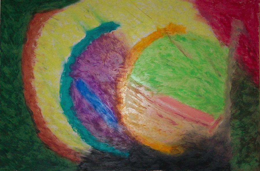 Abstract Painting - Birthing New Worlds by Gregg Echols