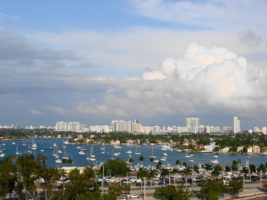 Miami Photograph - Biscayne Bay by Margaret Bobb