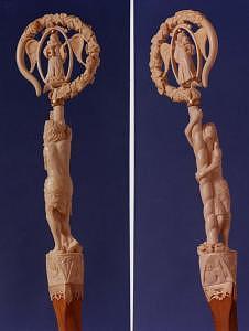 Bishops Crozier Sculpture by Tim Haley