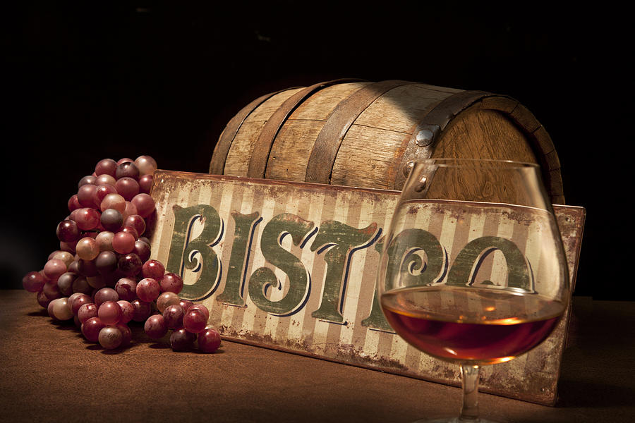 Bistro Photograph - Bistro Still Life II by Tom Mc Nemar