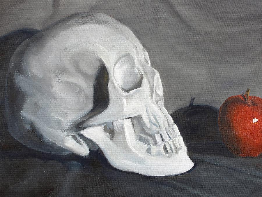 Still Life Painting - Bite Me by Margaret Marzullo
