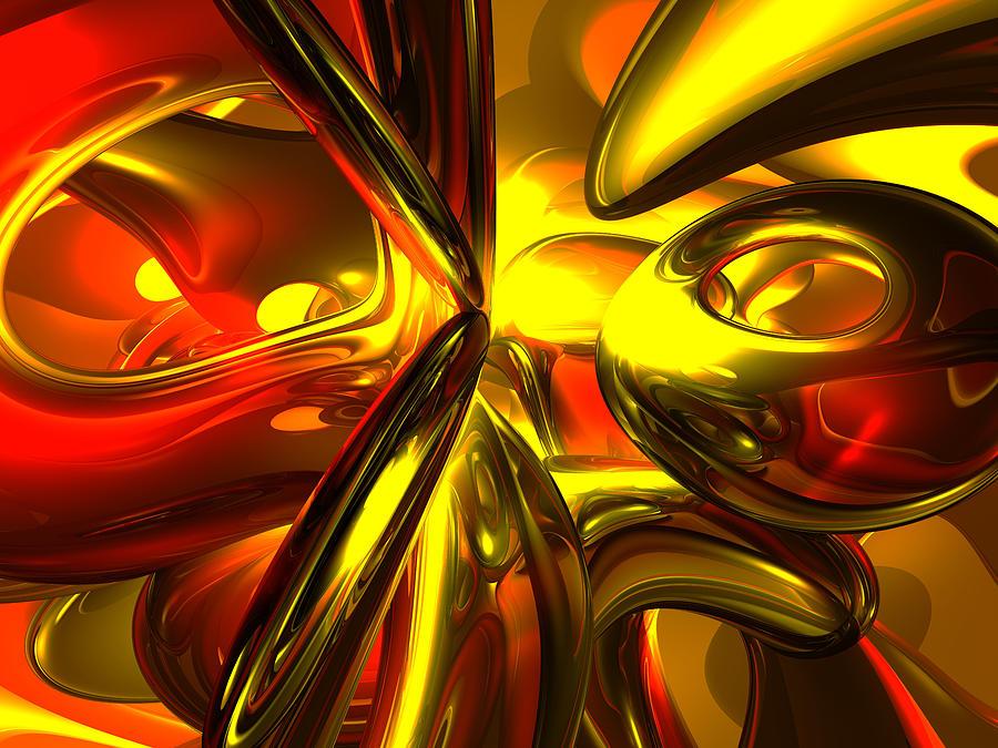 3d Digital Art - Bittersweet Abstract by Alexander Butler