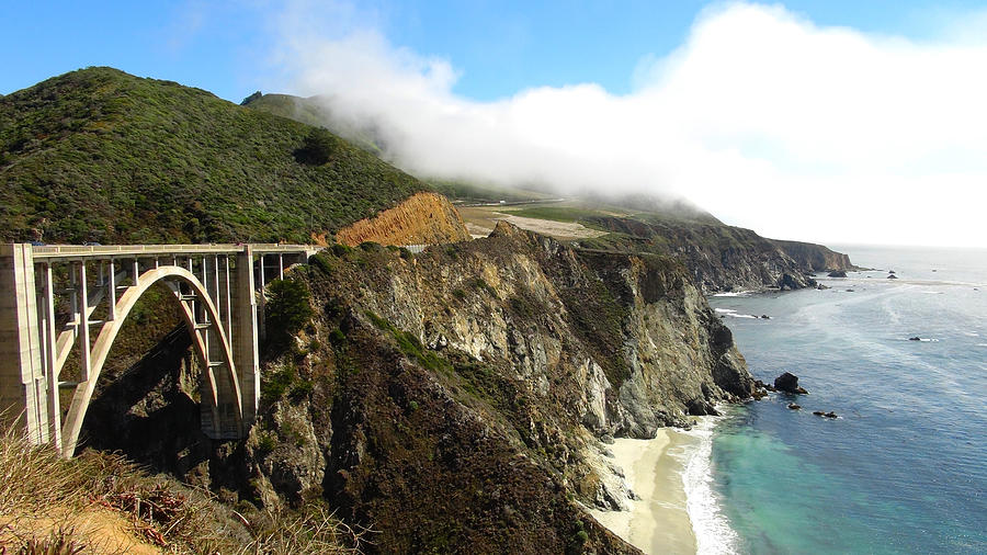 Landscape Photograph - Bixby Bridge by Atul Daimari