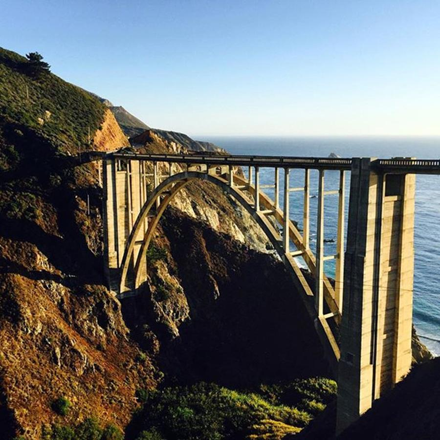 Bridge Photograph - Bixby Bridge #california #bigsur by Scott Pellegrin