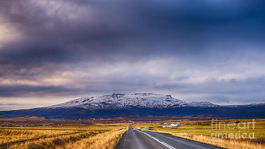 Bjarnafell Iceland Photograph