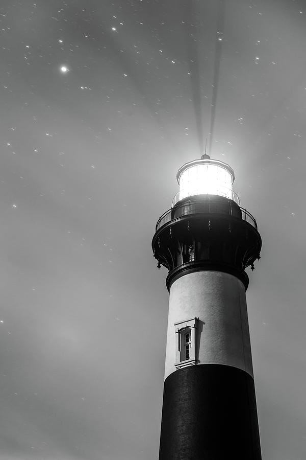 Bodie Lighthouse Photograph - Black And White Bodie by Jim Neal