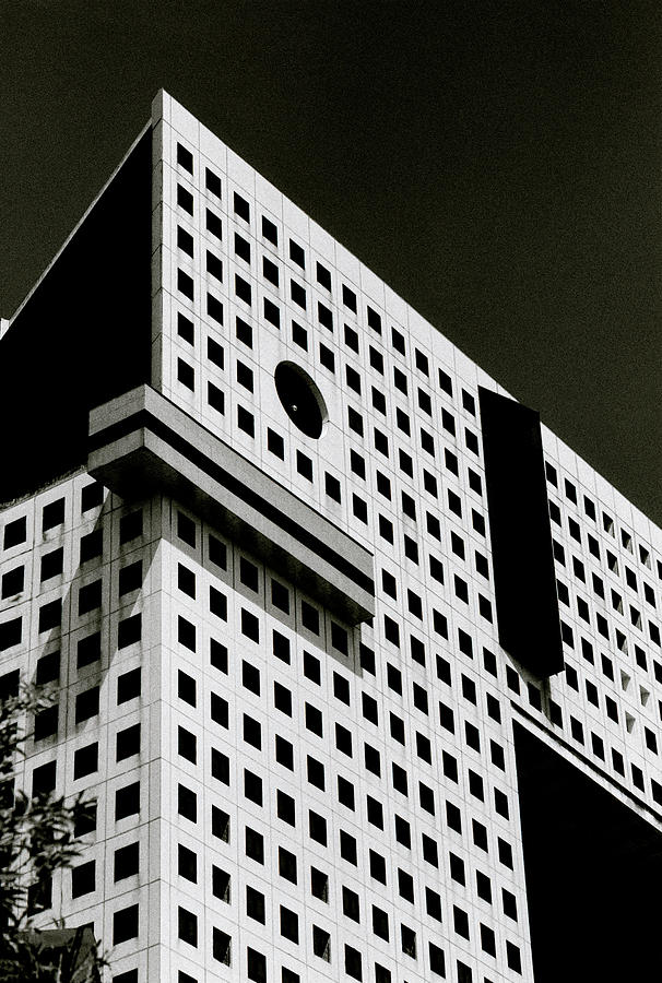 Black And White Building by Shaun Higson