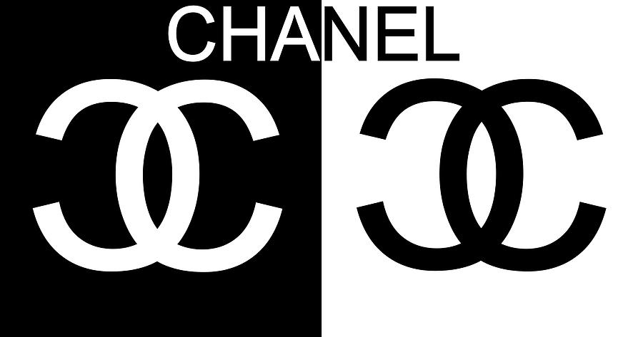 Black And White Chanel 2 Mixed Media