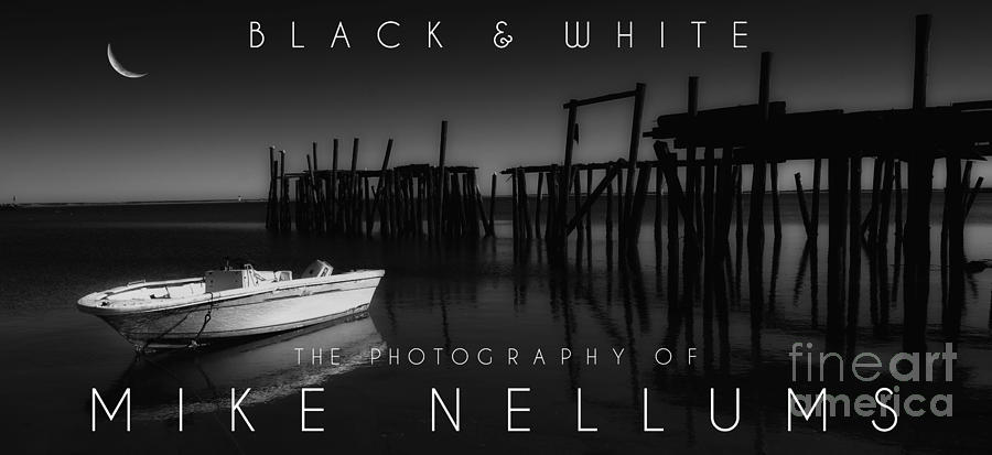 Book Photograph   Black And White Coffee Table Book Cover By Mike Nellums
