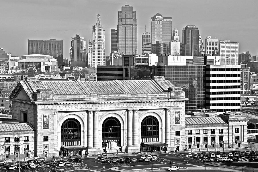 Kansas photograph black and white kansas city by frozen in time fine art photography
