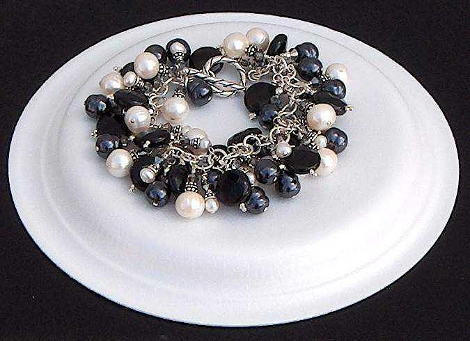 Black And  White Reflections Jewelry by Eleanor Love