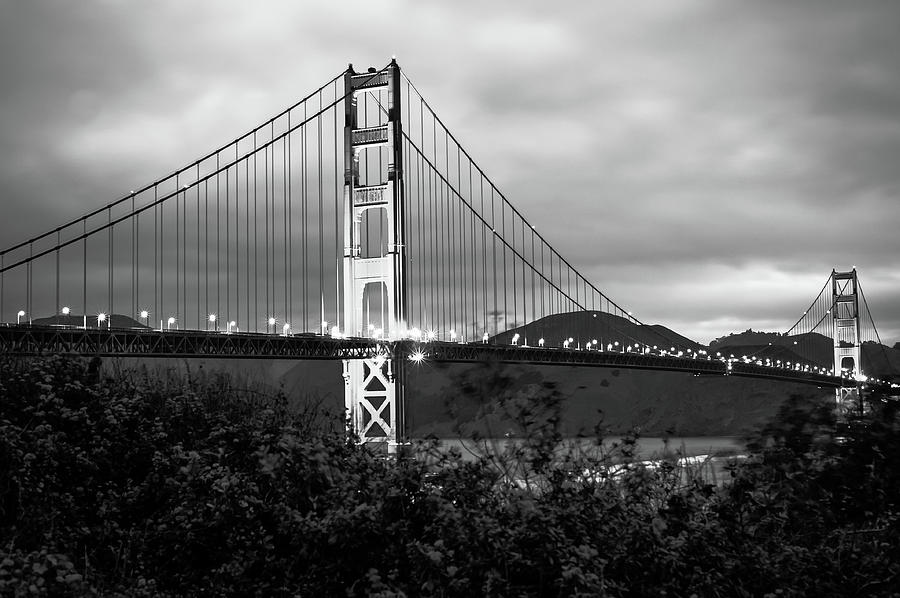 Black And White San Francisco Golden Gate Bridge