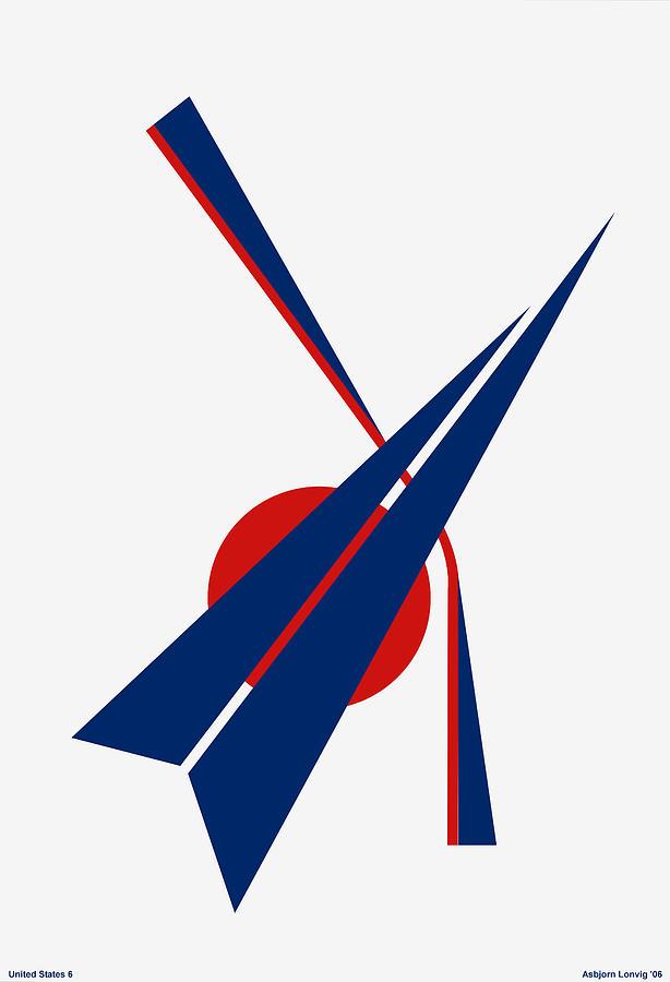 Black Arrow Digital Art - Black Arrow by Asbjorn Lonvig