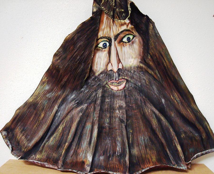 Blackbeard Painting - Black Beard by Angelo Ingargiola