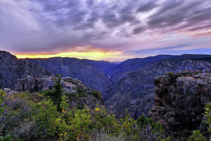 Black Canyon Sunset by Mark Whitt