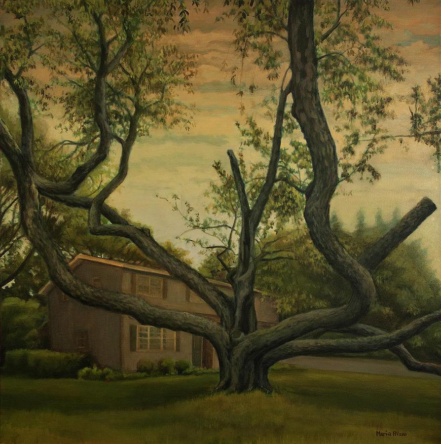 Black Cherry Painting - Black Cherry by Maria Rizzo