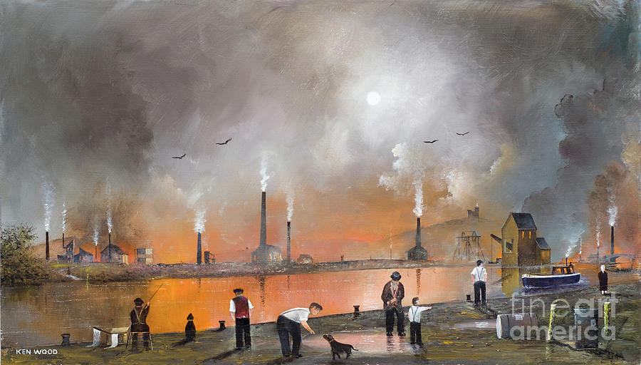 Black Country Landscape by Ken Wood