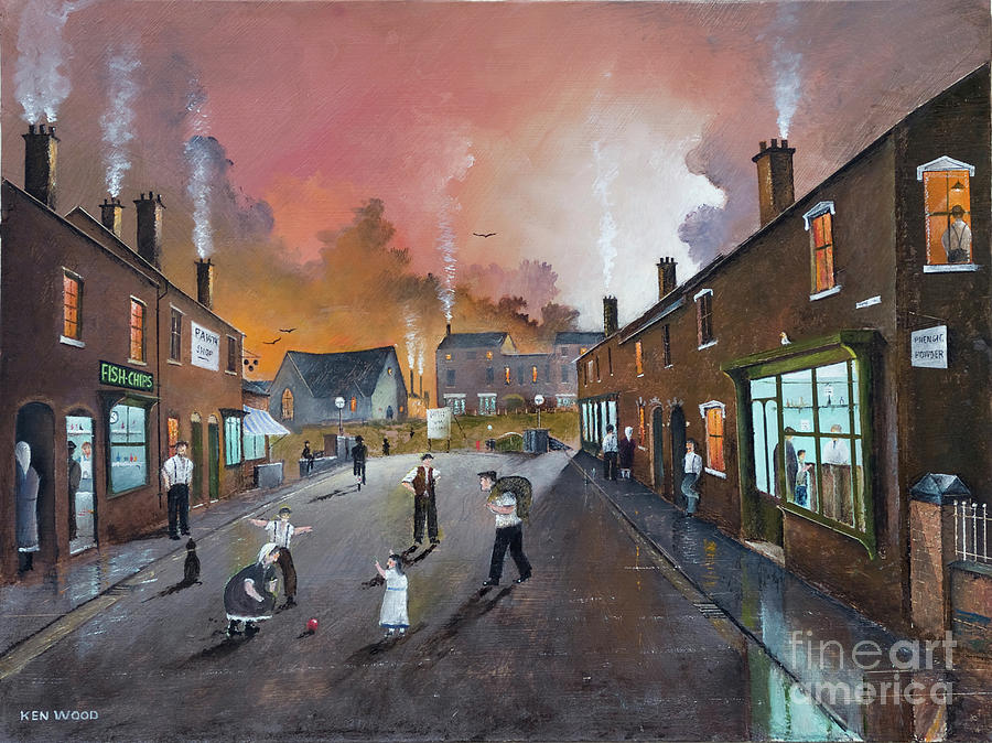 Black Country Village High Street by Ken Wood