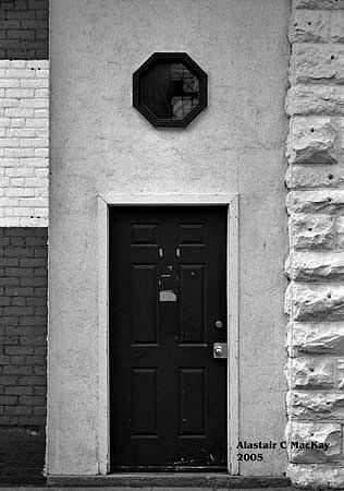 Black Door Photograph by Alastair  MacKay