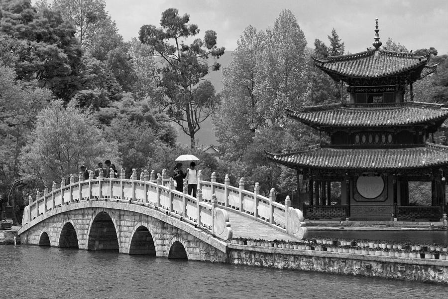 Asia Photograph - Black Dragon Park by Michele Burgess
