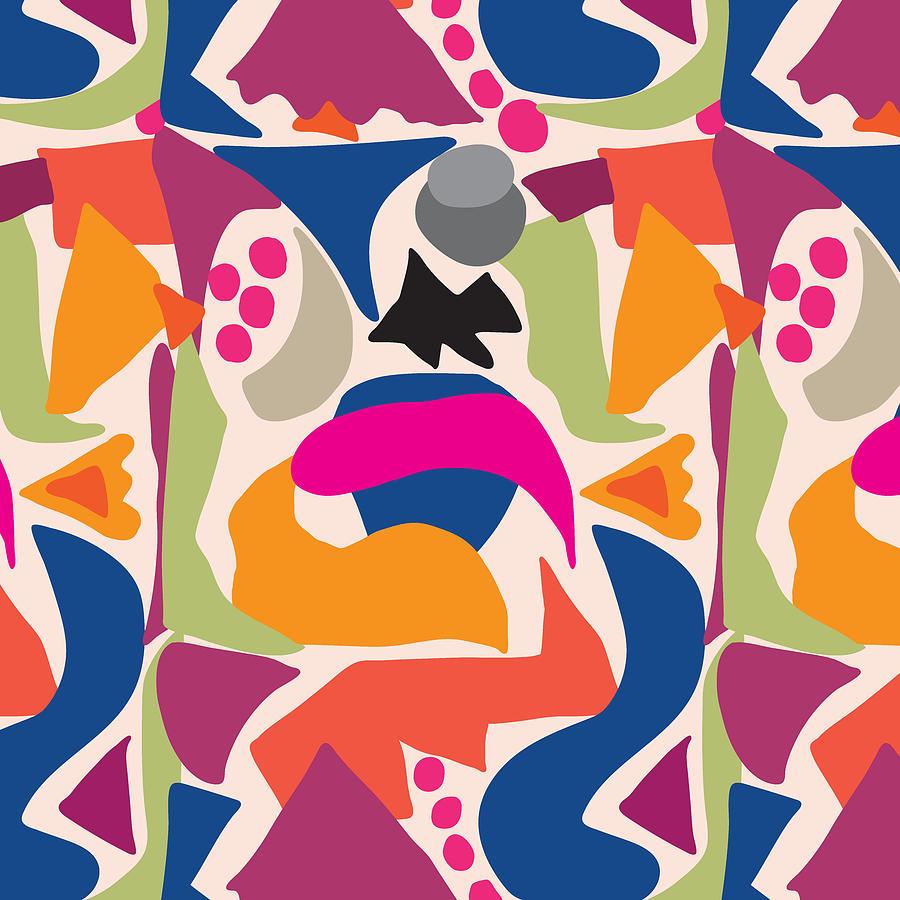 Fish Digital Art - Black Fish by Ildiko Sipos
