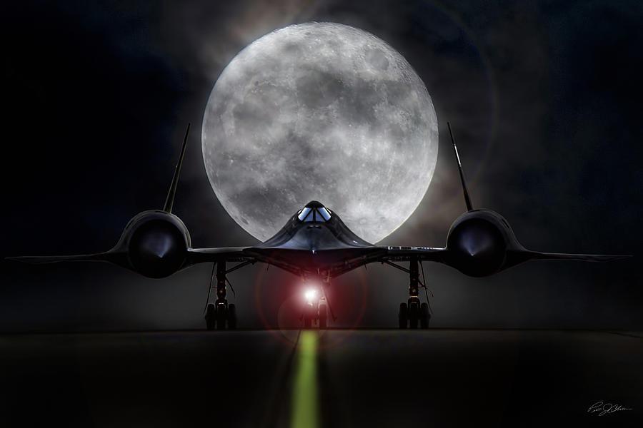 Aviation Digital Art - Black Friday by Peter Chilelli
