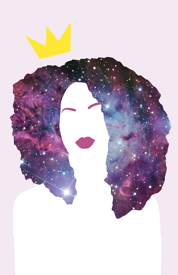 Black Girl Magic Sparkle Digital Art By Karissa Tolliver