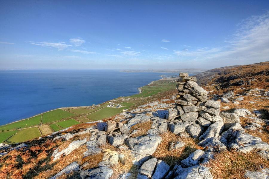 Burren Photograph - Black Head View by John Quinn