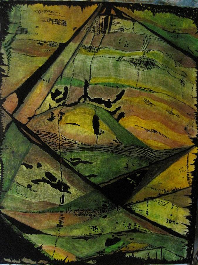 Landscapes Painting - Black Hills by David Raderstorf