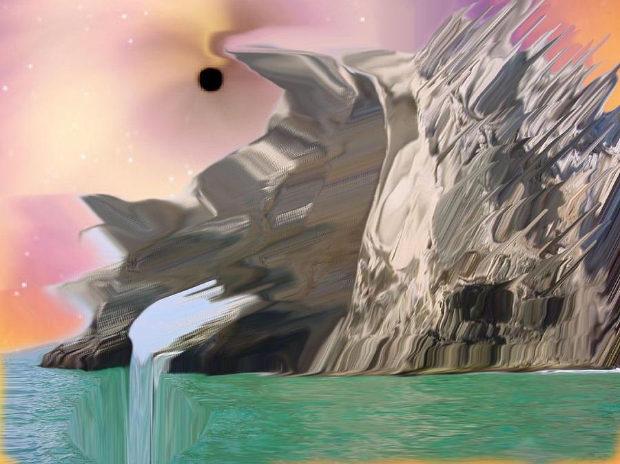 Black Hole Effects Digital Art by Jason Stephenson