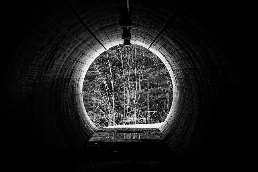 Abstract Photograph - Black Hole by Jakub Sisak