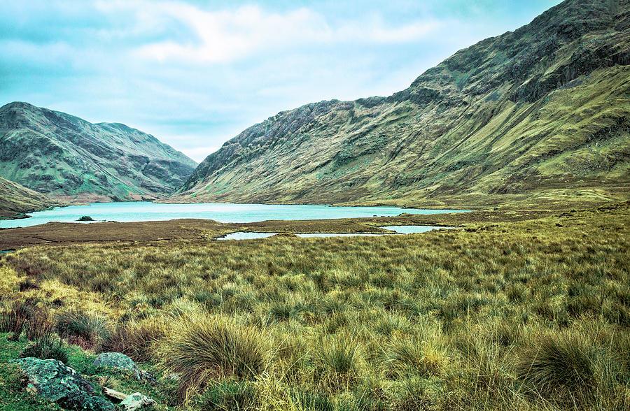 County Mayo Photograph - Black Lake  by Chris Hood