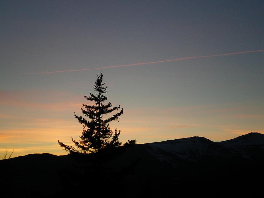 Landscape Photograph - Black Mountain Dusk by Evan Scheiner