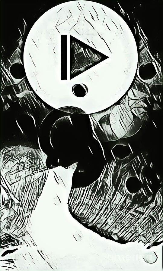 Black Rein Drawing