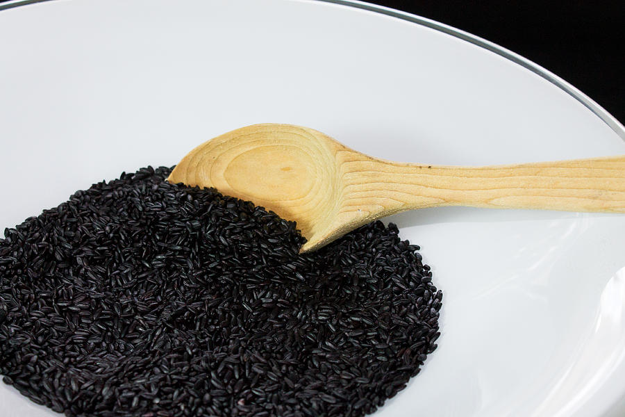 Black Photograph - Black Rice by Michael Tesar