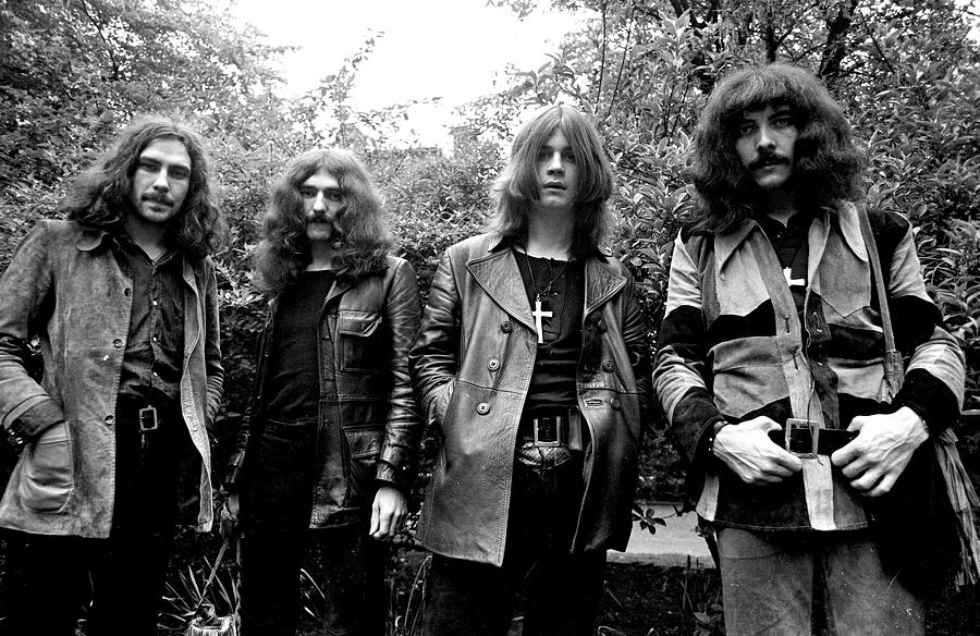 Black Sabbath 1970 #3 by Chris Walter