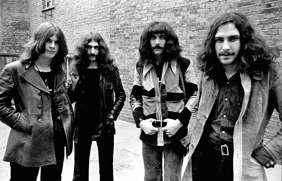 Black Sabbath 1970 #4 by Chris Walter