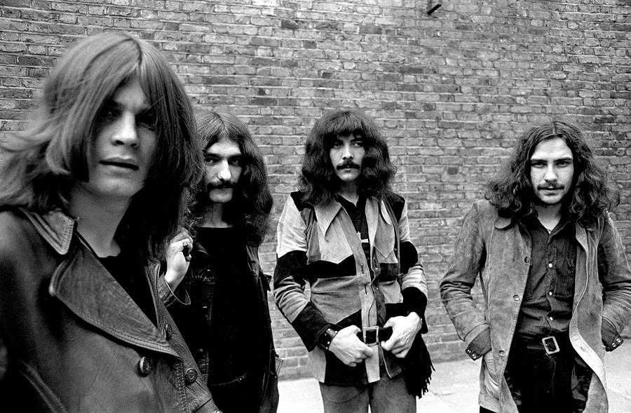 Black Sabbath 1970 #5 by Chris Walter