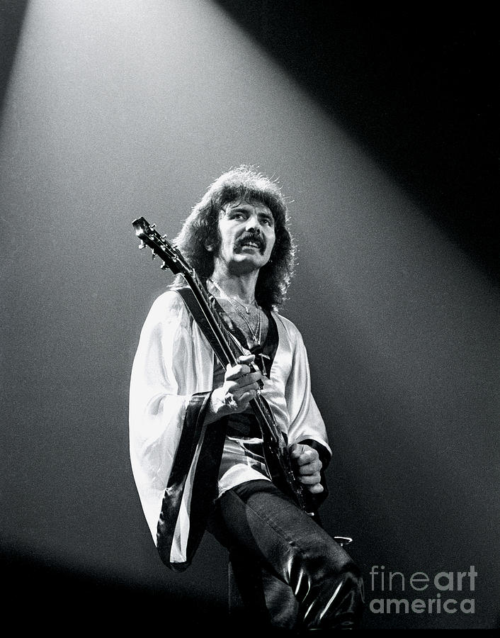 Black Sabbath Photograph - Black Sabbath 1978 Tony Iommi by Chris Walter