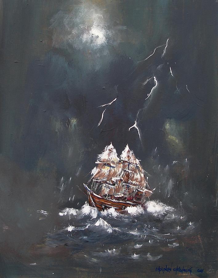 black storm by Miroslaw  Chelchowski