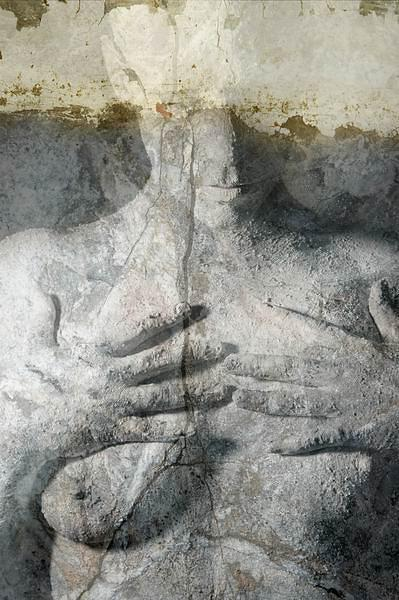 Art Nude Photograph - Black Tear by Patrick Steyn