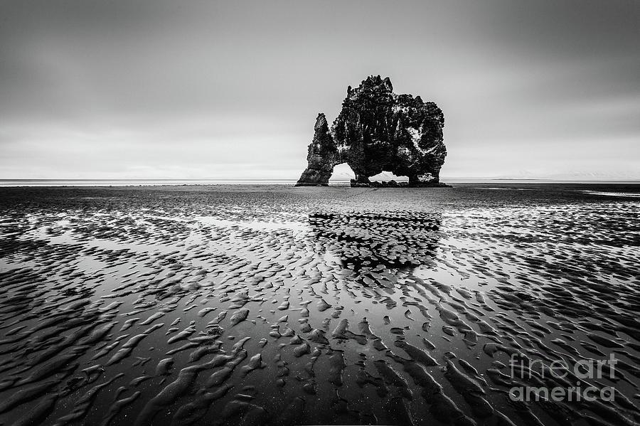 Iceland Photograph - Black Troll by Pawel Klarecki