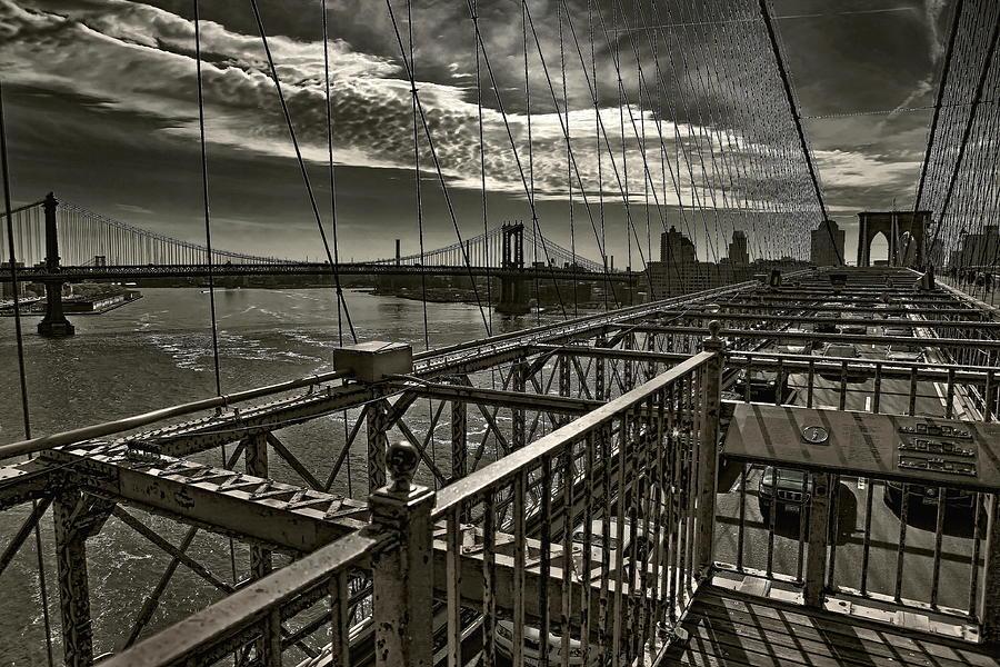 New York Photograph - Black Web... by Arkadiy Bogatyryov
