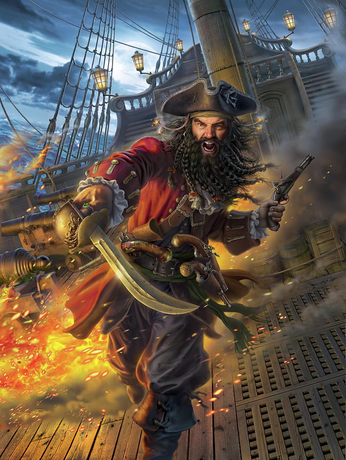 This is a picture of Persnickety Images of Pirates
