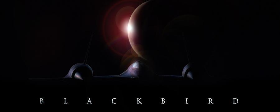 Aviation Digital Art - Blackbird by Peter Chilelli